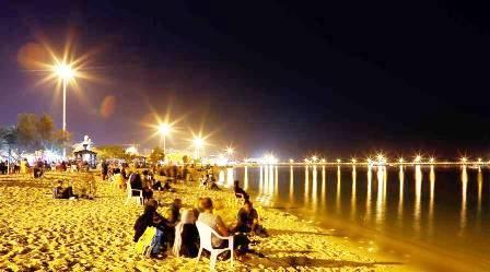 شب گردی در جزیره کیش